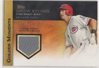 2012 Golden Moments Relics Series 2 Drew Stubbs Card #DS MINT - Cincinnati Reds