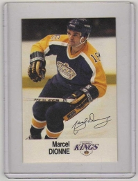 1988 Esso All-Star Marcel Dionne Card #8 MINT - Los Angeles Kings