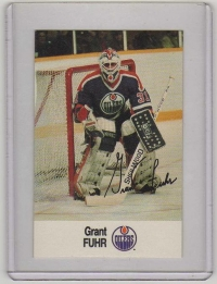 1988 Esso All-Star Grant Fuhr Card #12 MINT - Edmonton Oilers