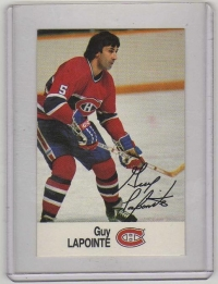 1988 Esso All-Star Guy Lapointe Card #26 MINT - Montreal Canadiens