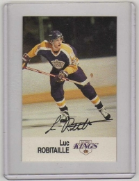 1988 Esso All-Star Luc Robitaille Card #38 MINT - Los Angeles Kings