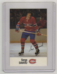 1988 Esso All-Star Serge Savard Card #41 MINT - Montreal Canadiens