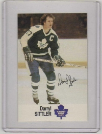 1988 Esso All-Star Darryl Sittler Card #43 MINT - Toronto Maple Leafs
