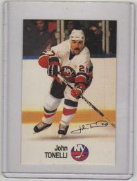1988 Esso All-Star John Tonelli Card #45 MINT - New York Islanders