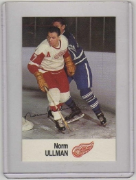 1988 Esso All-Star Norm Ullman Card #47 MINT - Detroit Red Wings