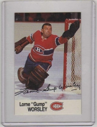 1988 Esso All-Star Gump Worsley Card #48 MINT - Montreal Canadiens