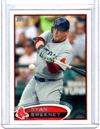 2012 Topps Base Set Series 2 Ryan Sweeney  Card #651 - Boston Red Sox