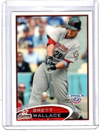 2012 Topps Opening Day Brett Wallace  Card #130 - Houston Astros