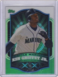 2012 Topps Retail Refractors Ken Griffey Jr.  Card #MBC3 - Seattle Mariners