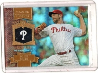2013 Topps Chasing History Gold Foil Retail Cliff Lee  Card #CH-81 - Philadelphia Phillies