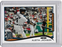 2014 Topps Base Set Series 2 Austin Jackson  Card #372 - Detroit Tigers