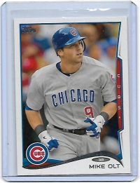2014 Topps Base Set Series 2 Mike Olt  Card #386 - Chicago Cubs