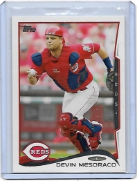 2014 Topps Base Set Series 2 Devin Mesoraco  Card #393 - Cincinnati Reds