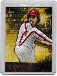 2015 Topps Archetypes Steve Carlton  Card #A-3 - Philadelphia Phillies