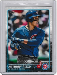 2015 Topps  Anthony Rizzo  Card #47 - Chicago Cubs