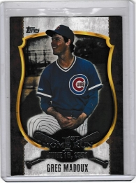 2015 Topps First Home Run Silver Series 2 Greg Maddux  Card #FHR-24 - Chicago Cubs