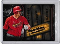 2015 Topps Heart of the Order Matt Adams  Card #HOR-15 - St.Louis Cardinals