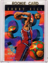 1995 Nba Hoops Crunchers Grant Hill Rookie Card 3 Detroit