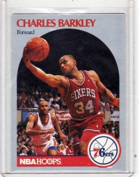 1990 NBA Hoops Charles Barkley  Card #225 - Philadelphia 76ers