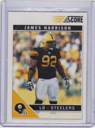2011 Score Glossy James Harrison  Card #231 - Pittsburgh Steelers