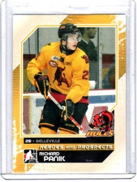 2010 In the Game Heroes and Prospects Richard Panik  Card #15 - Belleville Bulls