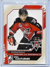 2010 In the Game Heroes and Prospects Sean Couturier  Card #61 - Drummondville Voltigeurs