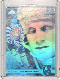 1992 Mcdonalds All Stars Brett Hull  Card #H2 - St. Louis Blues
