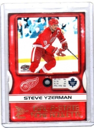 2000 Mcdonalds Dial A Stats Steve Yzerman  Card #2 - Detroit Red Wings