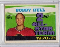 1971 O-Pee-Chee  Bobby Hull  Card #261 - Chicago Blackhawks