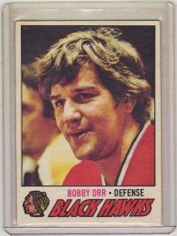 1977 O-Pee-Chee  Bobby Orr  Card #251 - Chicago Blackhawks
