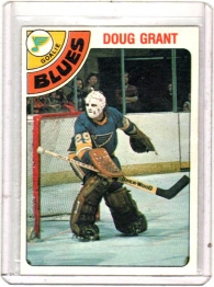 1978 O-Pee-Chee  Doug Grant  Card #373 - St. Louis Blues
