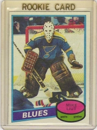 1980 O-Pee-Chee  Mike Liut Rookie Card #31 - St. Louis Blues