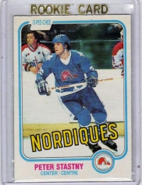 1981 O-Pee-Chee  Peter Stastny Rookie Card #269 - Quebec Nordiques