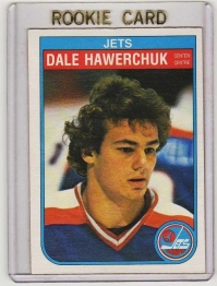 1982 O-Pee-Chee  Dale Hawerchuk Rookie Card #380 - Winnipeg Jets