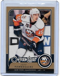 2008 O-Pee-Chee  Jeff Tambellini  Card #343 - New York Islanders