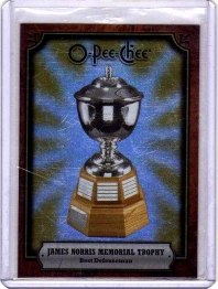 2008 O-Pee-Chee Trophy Cards James Norris Trophy  Card #AWDNL -
