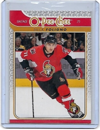 2009 O-Pee-Chee  Nick Foligno  Card #494 - Ottawa Senators