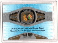 2013 O-Pee-Chee Rings Chicago Blackhawks  Card #R-6 -