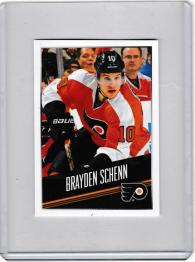 2014 Panini Stickers Brayden Schenn  Card #169 - Philadelphia Flyers