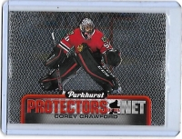 2016 Parkhurst Protectors of the Net Corey Crawford  Card #DN6 - Chicago Blackhawks