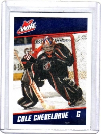 2012 Post  Cole Cheveldave  Card #5 - Kamloops Blazers