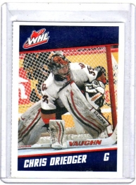 2012 Post  Chris Driedger  Card #6 - Calgary Hitmen