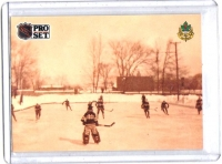 1991 Pro Set  Practice Outdoors  Card #589 - Montreal Canadiens