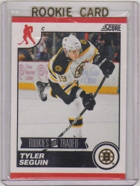 2010 Score Rookies and Traded Tyler Seguin Rookie Card #561 - Boston Bruins