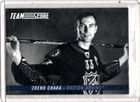 2012 Score Team Score Zdeno Chara  Card #TS5 - Boston Bruins