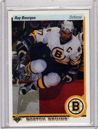 1990 Upper Deck  Ray Bourque  Card #64 - Boston Bruins