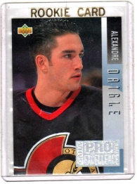 1993 Upper Deck Program of Excellence Alexandre Daigle Rookie Card #E15 - Ottawa Senators