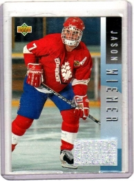 1993 Upper Deck Program of Excellence Jason Wiemer  Card #E3 - Canada
