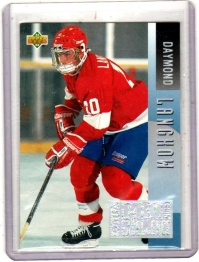 1993 Upper Deck Program of Excellence Daymond Langkow  Card #E7 - Canada