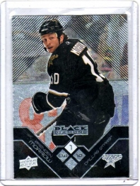 2008 Upper Deck Black Diamond Brenden Morrow  Card #21 - Dallas Stars